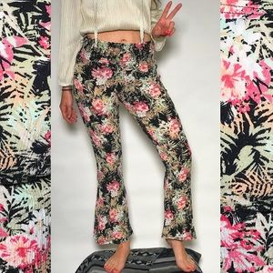 American Rag Floral Bell Bottoms